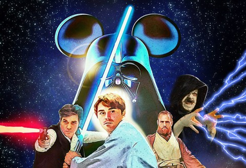 "Une version ""Disney"" de Star Wars par Sam Macaroni"