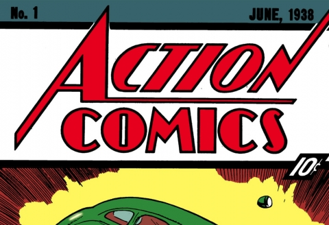 Action Comics numéro 1 en vente