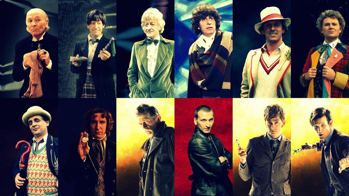 Doctor Who, le samedi c'est permis ! #10 – TechArtGeek  All 12 Doctors Wallpaper