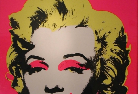 Marilyn par Andy Wharol