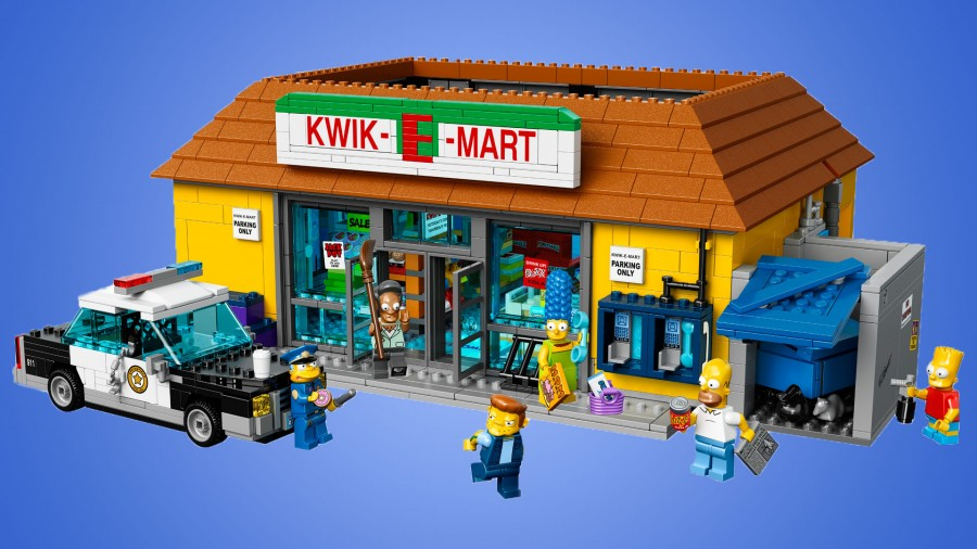 lego kwik e mart instructions