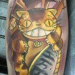 Alex Navarro best of tattoo totoro chat bus catbus neko miyazaki