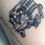 Charlotte Ann Harris best of tattoo totoro chat bus catbus neko miyazaki