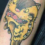 Courtenay Dickson best of tattoo totoro chat bus catbus neko miyazaki