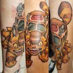 Dave Walz best of tattoo totoro chat bus catbus neko miyazaki