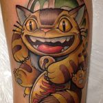 Enrik Gispert best of tattoo totoro chat bus catbus neko miyazaki