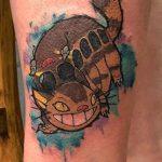 Hannya Jayne best of tattoo totoro chat bus catbus neko miyazaki