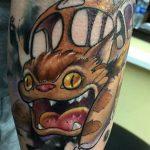 Moses Veliz best of tattoo totoro chat bus catbus neko miyazaki