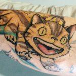 RO best of tattoo totoro chat bus catbus neko miyazaki