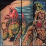 Tony Sklepic Geek Best of Tattoo He Man Skeletor