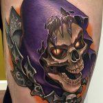 Aaron Springs Geek Best of Tattoo He Man Skeletor