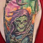 Andrew Douglas Geek Best of Tattoo He Man Skeletor