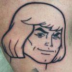Trench Geek Best of Tattoo He Man Skeletor