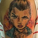 Tony Davis stranger things geek peau best of tattoo
