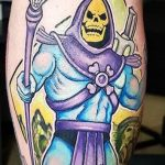Newtraditional tattoo Geek Best of Tattoo He Man Skeletor