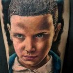 stranger things geek peau best of tattoo