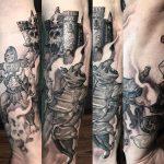 Mana and Takumi Geek Best of Tattoo He Man Skeletor