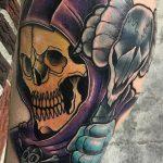 Damon Ark Geek Best of Tattoo He Man Skeletor