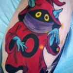 Jeff Farmer Geek Best of Tattoo He Man Skeletor