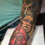 Johan 'Big Fat Joe' Ankarfyr Geek Best of Tattoo He Man Skeletor