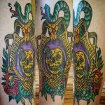 Laura Casey Geek Best of Tattoo He Man Skeletor