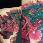 Marty McEwen Geek Best of Tattoo He Man Skeletor