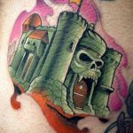 Corey Schoermer Geek Best of Tattoo He Man Skeletor