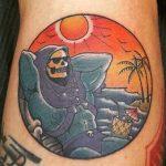 Nickcarry Geek Best of Tattoo He Man Skeletor