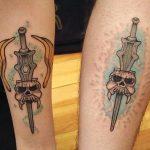 Patrick Drouin Geek Best of Tattoo He Man Skeletor