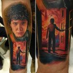 Raphael Amorim stranger things geek peau best of tattoo