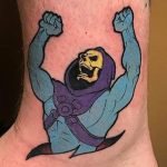 Rick Meggison Geek Best of Tattoo He Man Skeletor