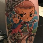 Tattoo Tom stranger things geek peau best of tattoo