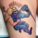 Emily Geek Best of Tattoo He Man Skeletor