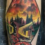 Gary Wiedenhof stranger things geek peau best of tattoo