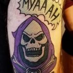 WonderlanD Tattoo Geek Best of Tattoo He Man Skeletor