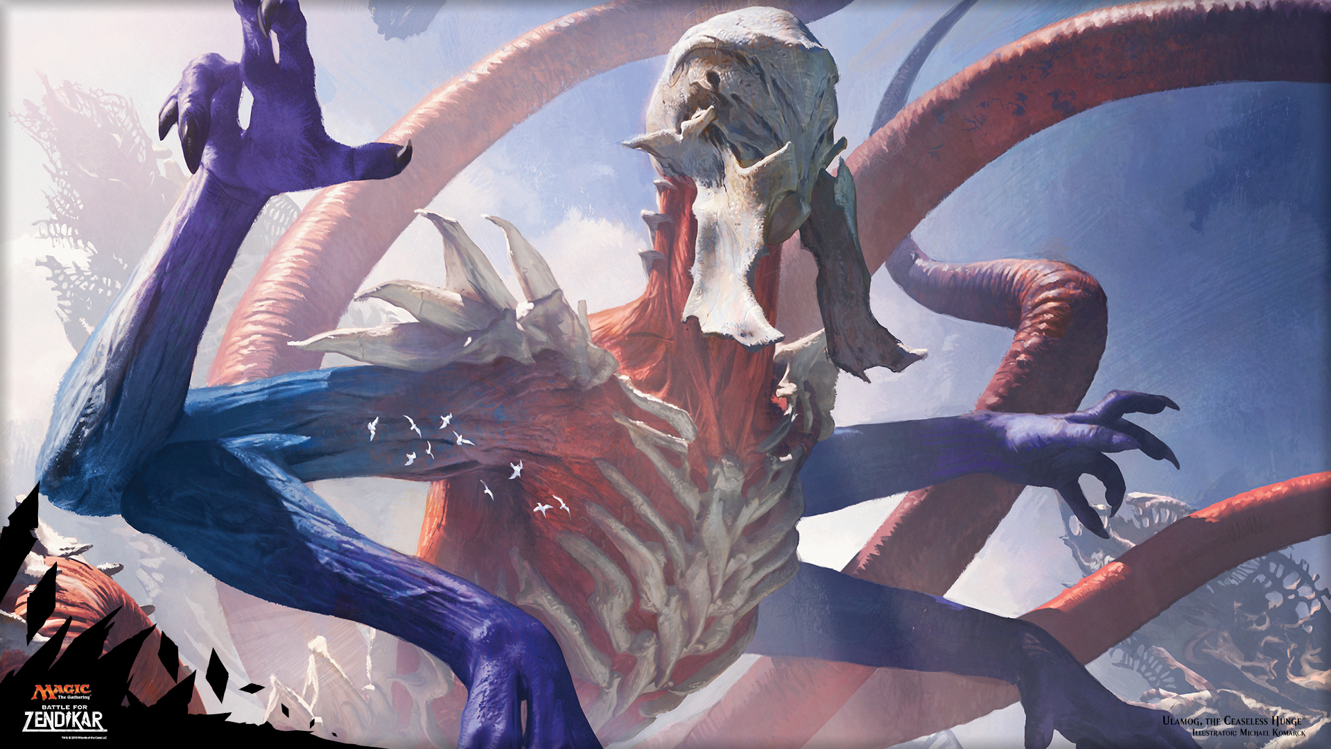 Ulamog the Ceaseless Hunger Deck for Magic the Gathering