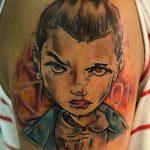 Tony Davis stranger things geek peau best of tattoo