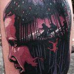 stranger things geek peau best of tattoo