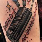 Erin Odea stranger things geek peau best of tattoo