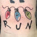 Jess Kaminski stranger things geek peau best of tattoo