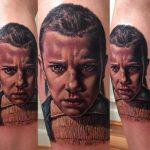 stranger things geek peau best of tattoo Kristian Kimonides