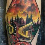 Gary Wiedenhof stranger things geek peau best of tattoo